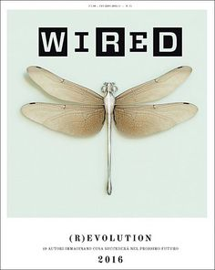 Newest cover Italian Wired cover is completely restyled by David Moretti @davoelmoro (former Design Director Italian Wired and now Design Director at Wired US) & Massimo Pitis @maxpitis Looks like a crossover between book and magazine?