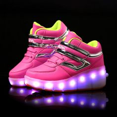 http://babyclothes.fashiongarments.biz/  New Children Glowing Sneakers Kids Roller Skate Shoes with Wheels Led Light up Glowing Shoes for Boy Girls zapatillas hombre, http://babyclothes.fashiongarments.biz/products/new-children-glowing-sneakers-kids-roller-skate-shoes-with-wheels-led-light-up-glowing-shoes-for-boy-girls-zapatillas-hombre/,  If you need other product, please click the link below.   Please measure Child foot length in the following figure,   according the Inner length to…