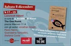 """Lavoro precario e sogni che fanno i conti con la quotidianità: """"Lavoricidi italiani"""". Appuntamento #piulibri2012 con intermezzi musicali."""