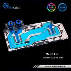 Bykski Full Coverage GPU Water Block For ASUS ROG MARS760-4GD5 Double Jet Graphics Card N-AS76MARS-X Price: 140.82 & FREE Shipping Match List, Asus Rog, Jet, Graphics, Free Shipping, Water, Blue, Water Water, Graphic Design