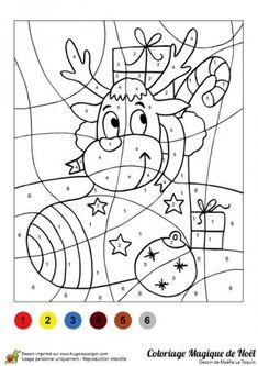 Home Decorating Style 2020 for Coloriage Magique Facile Noel, you can see Coloriage Magique Facile Noel and more pictures for Home Interior Designing 2020 14640 at SuperColoriage. Christmas Colors, Kids Christmas, Christmas Crafts, Free Christmas Printables, Christmas Activities, Colouring Pages, Coloring Books, Color By Numbers, Theme Noel