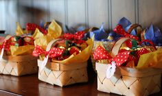 Snow White Party Picnic baskets