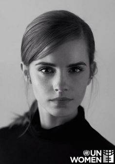 Emma Watson - Goodwill Ambassador for the United Nations' gender equality arm, UN Women