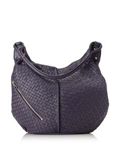 Matilda Diagonal Zip Bucket Hobo