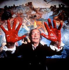 Salvador Dali by Philippe Halsman, 1970 Charles Darwin, Famous Artists, Great Artists, L'art Salvador Dali, Figueras, Philippe Halsman, Pictures Images, Photos, Les Religions
