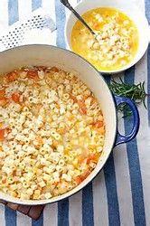 Chicken Ditalini Soup Recipe