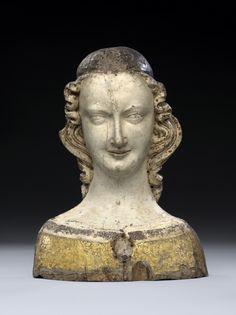Reliquary bust of a saint - 1300. © Foto: Skulpturensammlung und Museum für Byzantinische Kunst der Staatlichen Museen zu Berlin - Preußischer Kulturbesitz