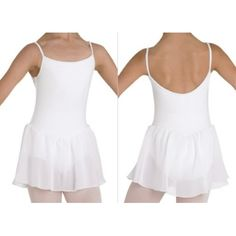 Bloch Blossom Girl's Leotard  Georgette skirt cami leotard.  Fabric: main- 90% Cotton, 10% Spandex  skirt- 100% Polyester Georgette  Colours : Ballet pink, Black  Price: 19.00€