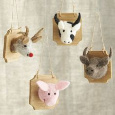 Taxidermy Ornaments  | Crate and Barrel