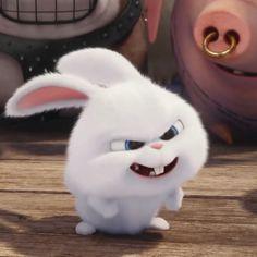 Snowball Rabbit, Cute Bunny Cartoon, Abstract Face Art, Cute Love Gif, Cute Disney Wallpaper, Cute Animal Drawings, Anime Artwork, My Animal, Cute Wallpapers