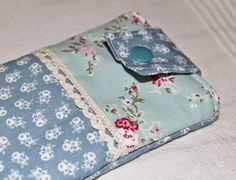 Azurblau und Lavendel