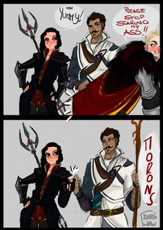Best Buddies by AlexielApril on deviantART If I can't look at men with Dorian like this then I don't know what this game will even mean