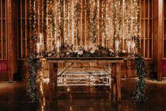wedding backdrop Desert Wedding at the Paseo Arizona Wedding Photographer - Erika Greene Photography Boho Wedding, Rustic Wedding, Dream Wedding, Fall Wedding, Wedding Desert, Wedding Ideas, Head Table Wedding, Wedding Table Decorations, Wedding Centerpieces