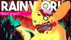 PIKACHU NO ESGOTO! | Rain World | Nunca Joguei
