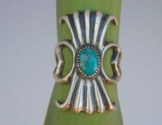 vintage turquoise #Turquoise #jewelry turquoise heart ring native american jewelry Turquoise heart..love! Native American jewelry