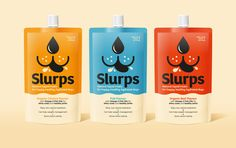 Slurps is a New Approach To Healthy Dog Treats — The Dieline | Packaging & Branding Design & Innovation News