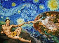 62 ideas for funny art van gogh Arte Van Gogh, Van Gogh Art, Art Van, Vincent Van Gogh, Van Gogh Pinturas, Art Jokes, Van Gogh Paintings, Arte Pop, Renaissance Art