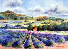 "Marie Gabrielle   ""Lavender and Roussillon"""