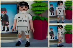 Futbolista del Real Madrid Club de Fútbol.