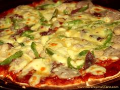Classic Pizza For The Day @ Don Vito Restaurant, Boracay Island, Philippines