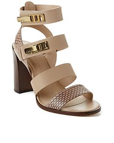 "AERIN ""McElroy"" Leather Sandal"
