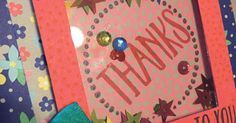 Shaker Card Technique | Midnight Crafting Perfectly Wrapped affectionately yours Stampin Up cardmaking how to