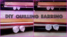 Quilling Earring | DIY Earring