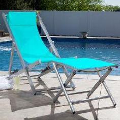 Alfresco Quick Dry Folding Chair & Footrest
