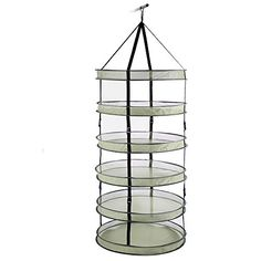 Cannabis Drying Rack Grower's Edge Dry Rack W Clips 3 Ft 12Cs  Products