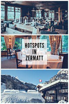 Die besten Tipps zum Essen und Weintrinken in Zermatt Zermatt, Drink Wine, Tips, Essen