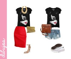 Outfit 2 #outfit #gabriellafiori #t-shirts #mascaradelatex