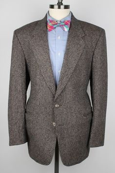 Brown Weave Mens Tweed Jacket  The Mens Store by ThePlaidBowTie