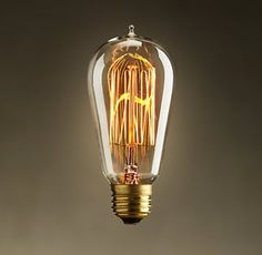 Edison Lamp in 3 Hours : 7 Steps (with Pictures) - Instructables Vintage Light Bulbs, Vintage Lighting, Led, Edison Lampe, Deco Luminaire, Edison Lighting, Industrial Lighting, Incandescent Bulbs, Edison Bulbs