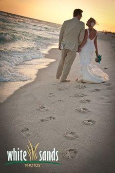 White Sands Photos Destin FL | Beach Photography | Wedding Portraits - Trash the Dress