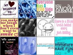 more quotes to make you smile :)