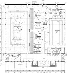 Gymnasium Architecture, Stadium Architecture, Cultural Architecture, Architecture Portfolio, Concept Architecture, Swimming Pool Plan, Swimming Pool Construction, Gymnasium Outfits, Swimming Pool Architecture