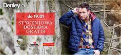 Dzień rozpoczynamy od dobrej wiadomości. Darmowa dostawa na www.denley.pl przedłużona do 19.01.2015r.  Skorzystaj!