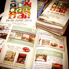 Just received our programmes for the silverdale and arnside art trail @saac_trail Come in and pick one up for only £2. They also include a competition this year to win £100 worth of artwork #saactrail #silverdale #arnside #arttrail