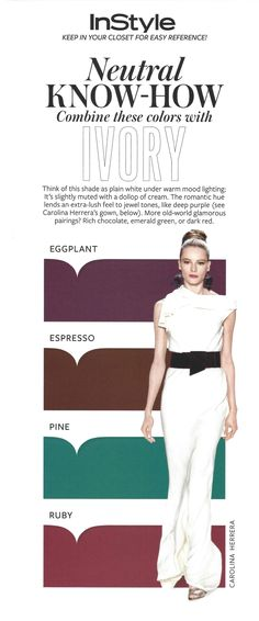 InStyle Magazine Neutral Know-how - Ivory