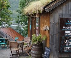 A Chocolate Shop with a View of Geirangerfjord, Norway