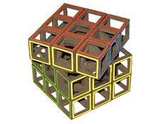 Hollow Rubik's cube