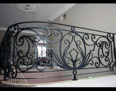We produce high quality stairways from wrought iron and forged iron in Toronto. Interior railings, fence, staircase and gates are the design products available. Interior Stair Railing, Stair Railing Design, Iron Stair Railing, Steel Railing, Grill Gate Design, Balcony Grill Design, House Gate Design, Iron Front Door, Iron Doors