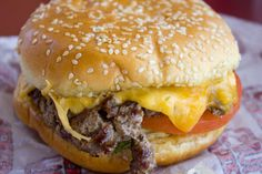 Ruby's 100% Montana Burger