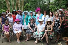"We'll be in the home of the Kentucky Derby, so why not rock a ""derby hat."" If you'd like to (and can pack it in your suitcase), wear it to dinner Wednesday night. (pictured: ZTA Memphis alumnae)"