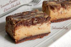 Brownie Cheesecake al burro di Arachidi