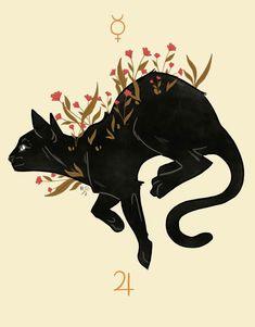 - Cats - 🌙Knowledge Is Power🌞 - micahdillustrations: CATTUS Feral things. 🌙Knowledge Is Power🌞 - micahdillustrations: CATTUS Feral things. Art And Illustration, Illustrations, Illustration Animals, Inspiration Art, Art Inspo, Pretty Art, Cute Art, Bel Art, Art Mignon