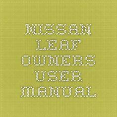 64 best nissan service repair manual pdf images on pinterest rh pinterest com Parts Manual Parts Manual