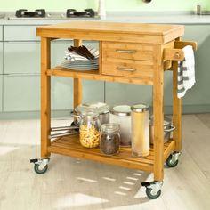 desserte de cuisine îlot chariot meuble de cuisine à roulette