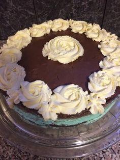 Sukker & Salt: Blue Oreo Dream Cake Dream Cake, Oreo, Salt, Baking, Desserts, Blue, Food, Tailgate Desserts, Deserts
