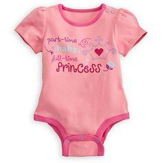 Princess Disney Cuddly Bodysuit for Baby   Bodysuits   Disney Store $9